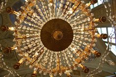 Chandelier in Rome, Italy