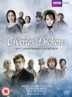 """Charles Dickens: 200Th Anniversary Collection.(2012). Lingua: inglesa. Sinopse: Colección da BBC que inclue varias obras dramáticas de Charles Dickens, entre elas """"Grandes esperanzas"""" , """"La pequeña Dorrit"""", """"Oliver Twist"""", """"Casa desolada"""". SIGNATURA: DVD-S-47"""
