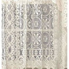 Hopewell Lace Curtain Panel - Walmart.com**Laregest size available  (photog prop)
