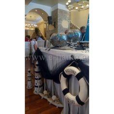 Οργάνωση Στολισμός Βάπτισης θέμα Φαλαινάκι - Θάλασσα