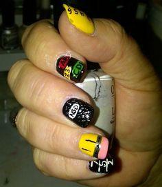 Back to School Nails School Nail Art, Back To School Nails, Nail Art For Kids, Cute Nails, Nail Art Designs, Teaching Ideas, Hair Ideas, Kindergarten, Girls