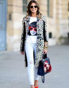 Streetstyle Paris Fashion Week Herbst/Winter 2014-2015