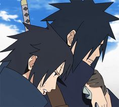 Madara and his brother Izuna