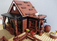 LEGO Moc Western J.B.'s Curral 004 by slapthatarse, via Flickr