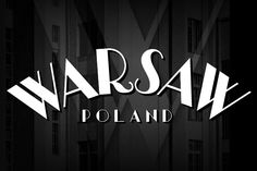 Warszawa Deco is a typeface based on a document from 1939. This typeface is based on Polish Art Deco and modernism of the Interwar period and is part of a series inspired by the aesthetics of Poland, circa 1908 to 1939.