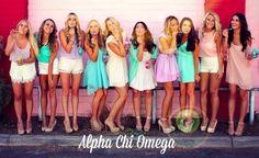 cute photo idea ASU Alpha Chi | Bows, Pearls & Sorority Girls