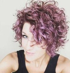 Image result for stacked spiral perm on short hair
