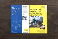 HQV - Free Agency Creative #printdesign #brochure #branding #graphicdesign #design #HQV #print #layout Print Design, Graphic Design, Innovation, Branding, Print Layout, Creative, Identity, Books, Free
