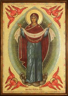 Icon of the Protection of the Theotokos