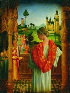 Music of Heaven by James C Christensen