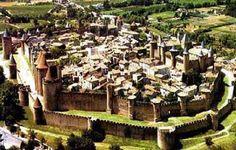 Carcassone, Situada no sul da França