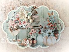 Vintage Shabby Chic, A Christmas Story, Farmhouse Decor, Decoupage, Decorative Plates, Halloween, Autumn, Projects, Handmade
