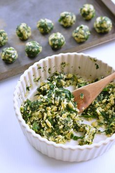 step 1v spinach balls