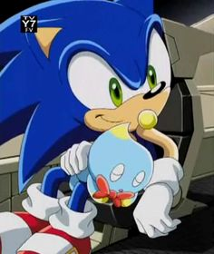 My daddy as Sonic is best known to be the first in the show with his wife Amy and and bro tails and cream the bunny and me as little girl   myself lightning as good girl