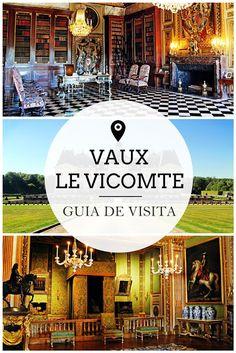 Drawing Dreaming - Vaux-le-Vicomte: guia de visita