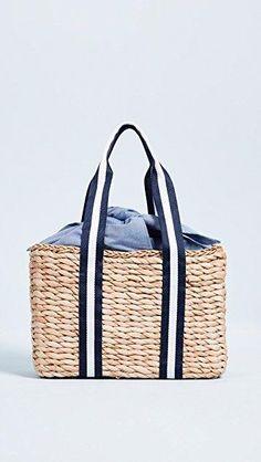 Basket weave handbag with gosgrain ribbon from Shopbop Types Of Women 4c04472ec02c3