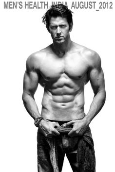Hrithik Roshan Flaunts His Hot Body On Men's Health Cover! Pretty much what I'm going for!!