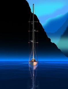 High Tide Digital Art by Stephen Harlan