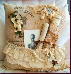 L-O-V-E this pillow! Gorgeous!