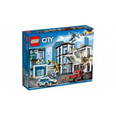 Kids' love creating with Lego and construction building toys. Shop Lego world and movie greats, like Ninjago, Marvel Avengers, DC Super Heroes, Disney and Duplo. Lego Polizeistation, Legos, Buy Lego, Lego City Police Station, Lego Police, Police Police, Lego Station, Building For Kids, Lego Building