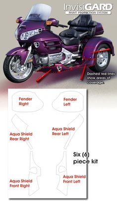 275 Best Motorcycle Paint Protection Kits images in 2013