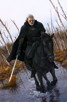 Geralt of Rivia by Nick Chamagua #TheWitcher3 #PS4 #WILDHUNT #PS4share #games #gaming #TheWitcher #TheWitcher3WildHunt