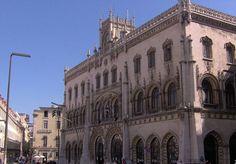 Estacion del Rossio #lisboa #portugal #viajes