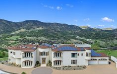 Location:31700 Lobo Canyon Road, Agoura Hills, CA Square Footage: 11,300 Bedrooms & Bathrooms: 7 bedrooms & 9 bathrooms Price: $5,900,000 This mountaintop mansion is located at 31700 Lobo Ca