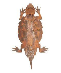 Horned Toad Figurine #zulily #zulilyfinds