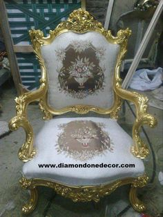 """""""Valentina"""" Fabulous Baroque Louis XIV Victorian French Reproduction R Rococo Furniture, Luxury Furniture, Paint Furniture, Furniture Design, Cool Coffee Tables, Decorating Coffee Tables, Chair Bows, Silver Candlesticks, Wood Chandelier"""
