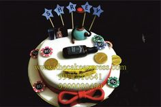 30th BIRTHDAY CAKE Smokers Casino Theme 40th Cake 30 Birthday Funny