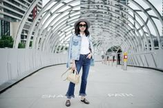 STREET STYLING WHILE TRAVELING WITH DENIM - Olivia Lazuardy