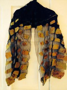 couture Felt Art / hand made felt clothing by Helga Yaillen