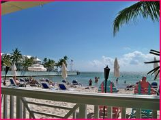 Southernmost Beach Cafe - great view of South Beach and delicious food too! (Ocean end of Duval)
