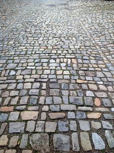 One thing about Cesky Krumlov you'll never forget (especially if you brought the wrong pair of shoes) are the cobblestones!