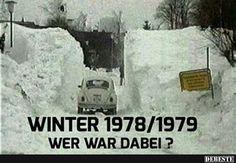 Damals gab's noch richtig Schnee...