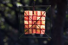 Stitched Red Leaf Sun Square by escher is still alive, via Flickr