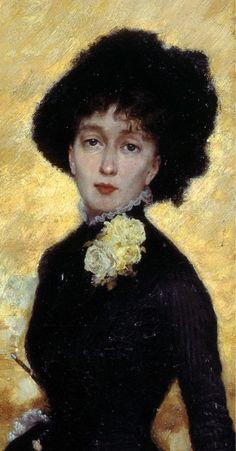 Giuseppe de Nittis (1846-1884), Il salotto della Principessa Matilde, 1883 on ArtStack #giuseppe-de-nittis-1846-1884 #art