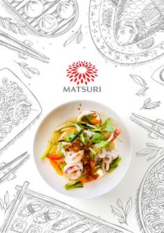 "Check out my @Behance project: ""MATSURI MENU 2"" https://www.behance.net/gallery/36232847/MATSURI-MENU-2"