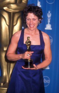 """1996 FRANCES McDORMAND - Best Actress winner for her work in """"Fargo""""  GRAT  MOVIE"""