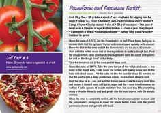 Pomedorini and Parmesan Tartlet from our Nature & More chef Annemiek. #organic #natureandmore #easter #recipe #pomodorini #tomatoes #photoby@annemiki