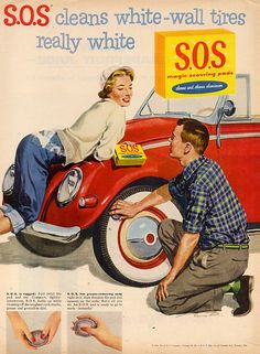 SOS to clean whitewalls..