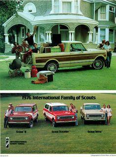 1976 International Harvester Scout Family