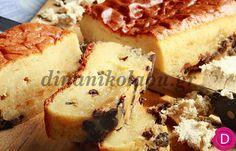 Κέικ με χαλβά του μπακάλη και σοκολάτα | Dina Nikolaou Cupcake Cakes, Cupcakes, Greek Desserts, Banana Bread, French Toast, Muffins, Cheesecake, Cooking Recipes, Breakfast