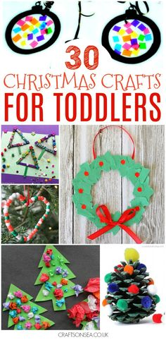 75 christmas activities for toddlers christmas crafts for ki Kindergarten Christmas Crafts, Christmas Activities For Toddlers, Noel Christmas, Christmas Crafts For Kids, Christmas Projects, Preschool Crafts, Holiday Crafts, Kid Crafts, Daycare Crafts
