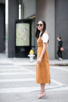 Collared tee, dress