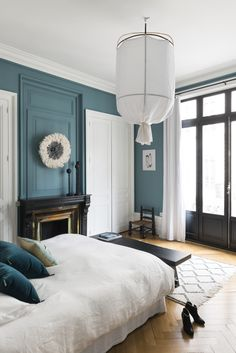 Céline's Haussmann-style apartment is the perfect canvas for her picks Decor, Furniture, Interior, Home, Coastal Master Bedroom, Home Deco, Cosy Decor, Interior Design, Master Bedrooms Decor