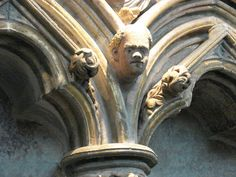 Medieval Carving - Salisbury Cathedral  A London Weekend - SoulOfAmerica