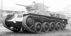 Strv M 38 Swedish light tank