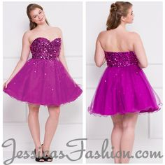 Short Prom dress in color Purple & more - Sweetheart neckline style in Sequin - Plus Size available. - $199 - Dress URL: http://www.jessicasfashion.com/Short-strapless-sequins-tull-sassy-plus-size-prom-dress-LXO837.html #dress #prom2013 #promdress #fashion #promdress #fashion #dressshopping #purpleprom #purplepromdress #sequindress #shortpromdress #shortdress #shortdresses #sweetheartdress #plussizedress